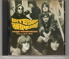 (HH467) Jefferson Airplane, Feed Your Head, Live 67-69 - 1996 CD