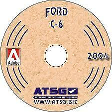 ATSG 36400 1966-91 Ford C6 Transmission Tech Manual Mini CD
