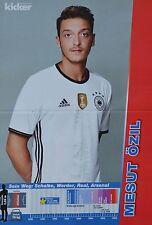 MESUT ÖZIL - A3 Poster (ca. 42 x 28 cm) - Fußball EM 2016 Clippings Sammlung NEU