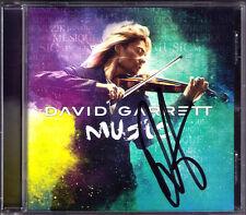 David GARRETT Signiert MUSIC Viva La Vida We Will Rock You Chopin CD Autograph