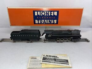 Lionel 6-8404 Pennsylvania 6-8-6 Steam Turbine Engine wTender Used OGauge ISSUES