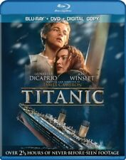 TITANIC New Sealed Blu-ray + DVD Leonardo DiCaprio Kate Winslet