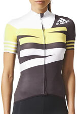 adidas Adistar Short Sleeve Womens Cycling Jersey - Black