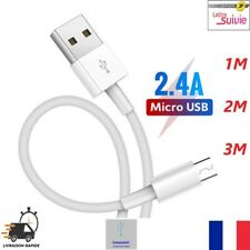 CÂBLE POUR SAMSUNG A10 S6 S7 J4 Plus J5 J6 J7 A6 MICRO USB Chargeur Rapide