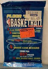 1995-96 Fleer Series 1 Total D Basketball Wax Pack - Michael Jordan