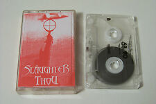 Slaughter thou-in nocte at Arras demo-tape 2002 (Death Heavy Metal Rock)