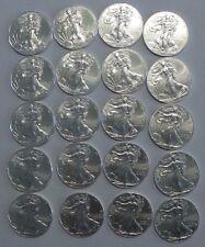 2013 U.S. 1 oz silver eagle, 20 coin lot, Estate Find