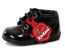 New Baby Girls Kickers Kick Hi My First Kickers Black Baby UK 4.5 Infant EUR 21