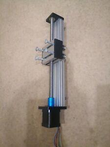 New Z axis CNC Ball Screw Slide 200mm Stroke + Actuator Stepper Motor