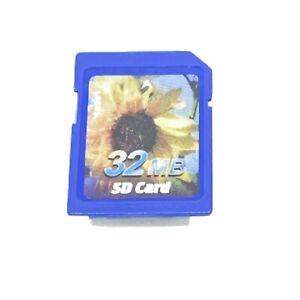 32MB SD CARD megabytes memory Vintage Camera Synthesizer Keyboard PDA OFFER
