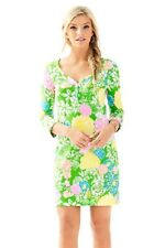 NWOT Lilly Pulitzer Dress Multi Hibiscus Stroll Size Xxs