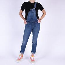 Levi's Denim Navy blue Women's Dungarees Overalls Size XXS