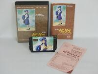 VALIS Mugen Senshi Ref/1567 Mega Drive Sega Japan md
