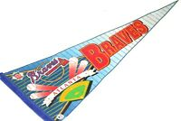 Vintage Atlanta Braves Pennant MLB