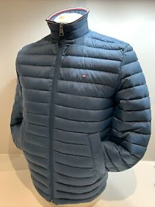 Mens Tommy Hilfiger Packable Down Jacket Blue (Lakeside) BNWT Size Small