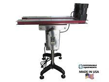 Hugger Belt Side Grip Transfer Conveyor For Bottom Coder