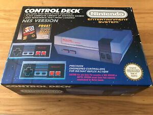 Nintendo Entertainment System NES Console Boxed In Amazing Condition