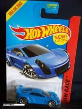 HOT WHEELS 2014 #160 -1 MASTRETTA MXR BLUE RACE CA AMER