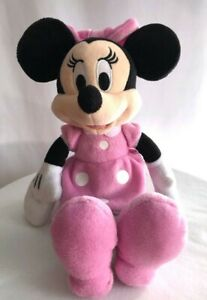 Disney Just Play Minnie Mouse pink polka dot dress 11 in plush