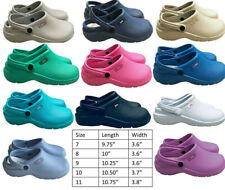 Medical Nurse Womens Comfortable Lightweight Slip Resistant Clogs Shoes 9 Colors