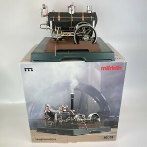 Boxed Marklin Dampfmaschine Steam Engine 16051 2 Cylinder W 37cm H 34cm