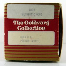 GOLDVARG COLLECTION MODELS 1/43 SCALE  # 6 Packard Woodie Gold Empty Box Only