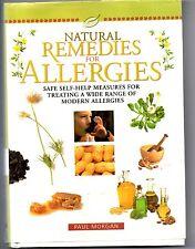Natural Remedies for Allergies,Safe self-help measures, Paul Morgan
