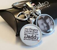 Personalised Photo Custom Keyring Wrap Daddy - Easter Fathers Day Gift Box