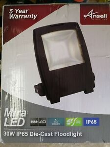 Ansell Lighting Mira LED 30w IP65 Die Cast Floodlight