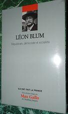 Léon Blum Républicain démocrate soc .. Gallo et Vial coll ILS ONT FAIT LA FRANCE