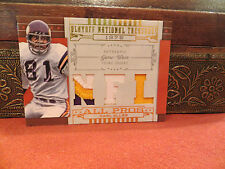 National Treasures NFL All Pros 1975 Prime Jersey Vikings Carl Eller 08/25 2008
