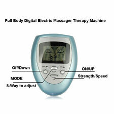 Tens Machine Digital Therapy Full Body Massager Pain Relief acupuncture Back  OZ
