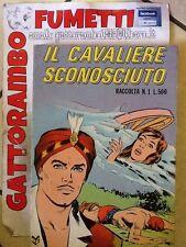 Il Cavaliere Sconosciuto N.1 Anno 73 Ottimo Ed.cenisio