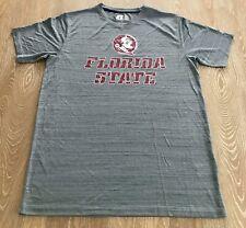 Florida State Seminoles Short Sleeve T Shirt Gray Size Large 42/44