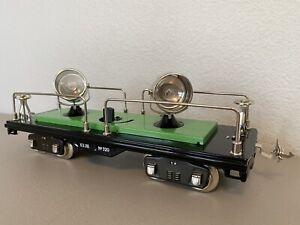 MTH 10-1116 :: Searchlight Car No. 520 Black & Green w/Nickel Trim - Std. Gauge