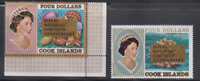 PP22 - COOK ISLANDS STAMPS 1987 ROYAL RUGBY WEDDING SG1193-94 MNH