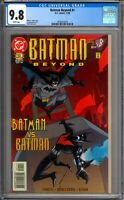 Batman Beyond 1 CGC Graded 9.8 NM/MT DC Comics 1999
