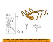 NISSAN OEM 99-04 Frontier Ignition Spark Plug-Wire OR Set-See Image 224409Z025