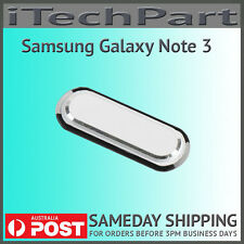 Samsung Galaxy Note 3 N9000 Home Button Replacement WHITE