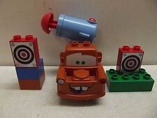 LEGO DUPLO DISNEY PIXAR CARS 2 AGENT MATER 5817 SHOOTING CANNON TARGET