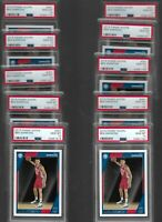 (10) 2016 Panini Hoops Ben Simmons #261 PSA 10 GEM MINT Rookie Investment Lot RC