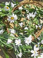 Rebe Blüten 190cm Margeritengirlande Vintage Girlande Deko Blumengirlande