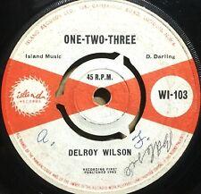 DELROY WILSON ~ One,Two,Three / Back-Biter ~ ISLAND WI 103 7in LISTEN