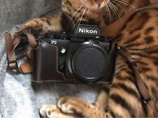 Genuine Leather Half Case Cover For Nikon F3 Camera Protector