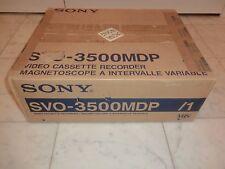 Sony svo-3500mdp VHS-Video Recorder, ovp&neu, inutilizzato, 2 ANNI GARANZIA