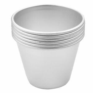 6Pcs Individual Nonstick Mini Pudding Dessert Cups Creme Molds DIY Baking Tools