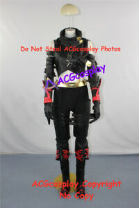 Hack Roots Haseo Cosplay Costume include boots covers faux leather made