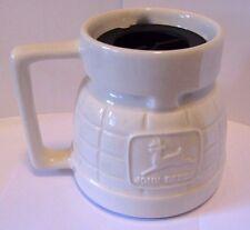 John Deere Gold Level Certification Glazed Stoneware Mug Cup