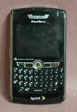 BlackBerry Model 8830 Black Color Sprint Smartphone World Edition For Parts