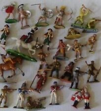 Toy Soldiers Vintage 1/32 scale Mixed makes Britains Deetal Airfix & Others